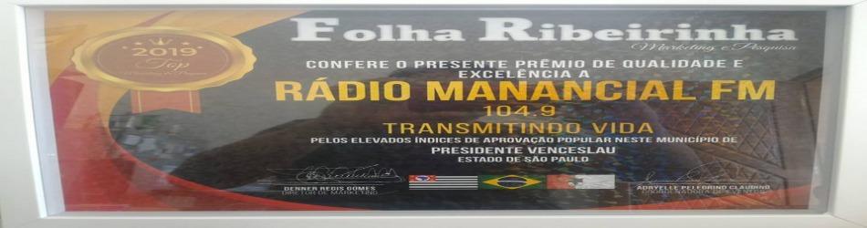 Folha Ribeirinha - Marketing e Pesquisa - Rádio Manancial FM 104,9 -  Elevado Índice de Aprovação  Popular