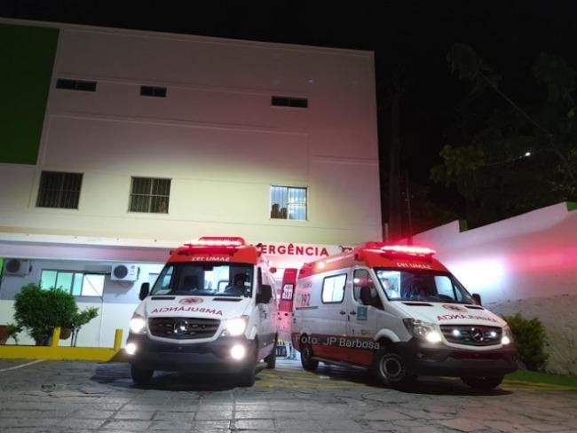 Três jovens na mesma moto sofrem acidente em Caatinga do Moura de Jacobina